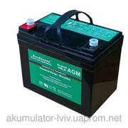 Аккумулятор 37 Ач стационарный глубокого разряда (AGM) EverExceed ST-1235 фото