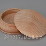 Заготовка для круглой шкатулки из дерева №424991714 фото