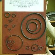 Кольца для гидравлических и пневматических устройств ГОСТ 9833/ГОСТ 18829 фото
