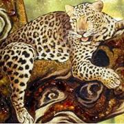 Картины из янтаря фото