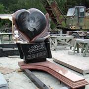 Мемориальный комплекс с памятником Сердце фото