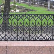Чугунные ограды фото