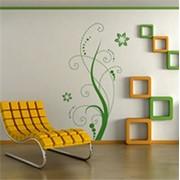 Клеящиеся виниловые принты специально для стен (наклейки на стены) фото