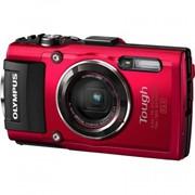 Цифровой фотоаппарат OLYMPUS TG-4 Red (V104160RE000) фото