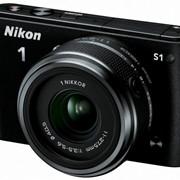 Цифровой фотоаппарат Nikon 1 S1 Black + 11-27.5mm фото