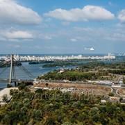Прогулка над Киевом на вертолете Robinson R66 фото