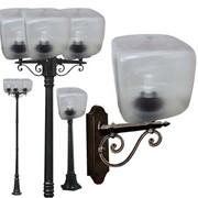 Уличные светильники Куб фото