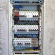 Сборка электрических щитов. фото