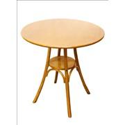 Круглый стол КМФ 37 краситель 311, матовый лак фото