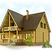 Строительство бань и деревянных домов фото
