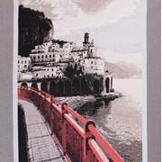 Ткань мебельная Жаккардовый шенилл Como Red фото