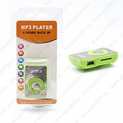 MP3 плеер пластиковый (Зеленый) фото