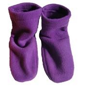 Носки флисовые фиолетовые фото