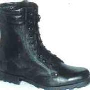 Cапоги юфтевые с высоким берцем ОМОН зимние фото
