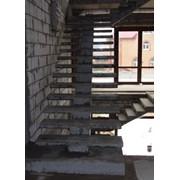 Монолитные бетонные лестницы фото