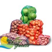 Сетка овощная 50 х 80 (красный,зеленый, фиолетовый) упаковка 100 шт. фото