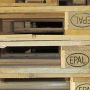 Европоддон EPAL 800*1200*145 мм б/у, 2 сорт, свет фото