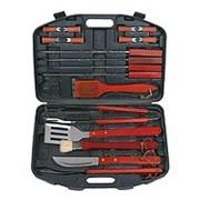 Набор для шашлыка и барбекю в чемодане Bayerhoff 22 предмета + подарок набор из 4 ножей фото