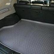 Коврик в багажник Toyota Harrier 2003-2013 (полиуретановый с бортиком) фото