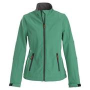 Куртка софтшелл женская TRIAL LADY зеленая, размер XS фото