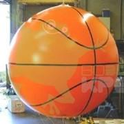 Аэростат сфера - баскетбольный мяч, 2 м фото