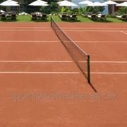 Строительство теннисного корта фото