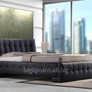 Кровать Барселона Черная фото