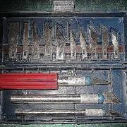 Набор - ножи (резцы), для работ: резьба по дереву, по дереву, пластику, при лепке фото