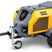 Бензиновый передвижной компрессор Atlas Copco XATS350Dd фото