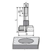 Сверла для высверливания отверстий под петли с пластинками из НМ Faba TW-301, TW-302 фото
