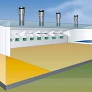 Система охлаждения для свинарников фото
