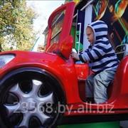 Детская качалка Red car фото