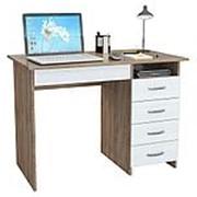 Компьютерный стол МФ Мастер Стол письменный Милан-1 (0120) фото