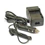 Зарядное устройство сеть + авто для аккумуляторов Olympus Li-20B фото