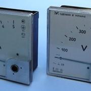 Амперметры и вольтметры переменного тока ЭА, ЭВ0302/1УУлучшенные Аналоги Э365, Э377 фото