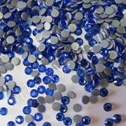 Продам термоклеевые стразы производства Aroshirva (Гонконг) цвет Sapphire фото