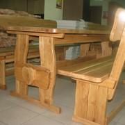 Деревянная мебель для пивного магазина фото