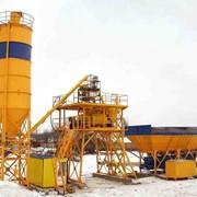 Установки бетоносмесительные HZS25 фото