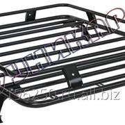 Багажник ВАЗ-2121 Нива корзина без сетки на водостоки фото
