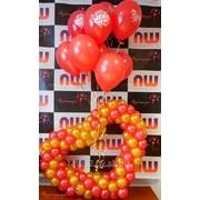 Украшение воздушными шарами - Дни рождения, юбилеи, корпоративы фото