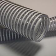 Рукав напорно-всасывающий для элеваторов, зерновых сеялок Фуд ЛПУ д. 30-150 мм фото