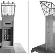 Устройства подключательные типа УПН-10 УХЛ1 для присоединения гибких высоковольтных кабелей, питающих карьерные потребители электроэнергии к воздушным распределительным сетям переменного трехфазного тока напряжением 6 кВ. фото