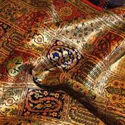 Щёлковые ковры фото