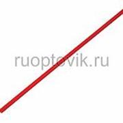 1. 5 / 0. 75 мм 1м термоусадка красная REXANT фото