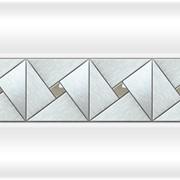 Декоративная вставка Арт-мозаика Chrome фото