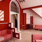 Художественное оформление интерьера дома Skline Group фото