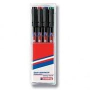 Набор маркеров для пленки Edding 142М/4S, 1,0мм, 4цв/уп фото