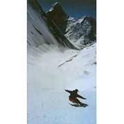 Фри-райд по свежему снегу летом фото
