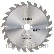 Пила дисковая по дереву Bosch 230x30x48z Optiline ECO фото