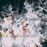 Бумажная дискотека на детский праздник в Астане фото